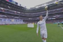Bis de Cristiano Ronaldo em goleada real