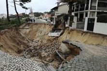 Cratera ameaça habitações em São Pedro de Moel
