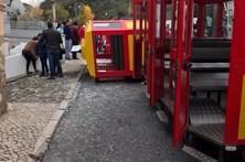 Duas crianças feridas em acidente com comboio de Natal