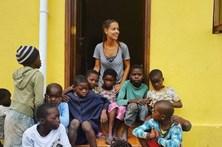 Mariana Monteiro faz voluntariado em África