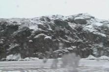 Primeiro nevão na serra de Montemuro