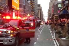 Explosão em terminal de autocarros de Nova Iorque