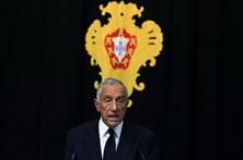 """Marcelo enaltece """"espírito nacional de entreajuda"""" sobre os incêndios"""