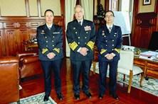 Primeiras duas mulheres ao comando de navios da Marinha