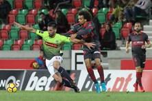 Sp. Braga trava no estádio dos Barreiros