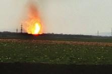Explosão em posto de distribuição de gás faz um morto e dezenas de feridos