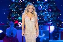 Mariah Carey surge em concerto com menos 11 quilos
