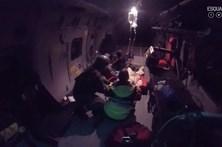 Força aérea faz resgate em navio de cruzeiro