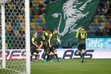 Os melhores momentos do Sporting - Vilaverdense