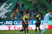 Doumbia e Gelson selam vitória do Sporting