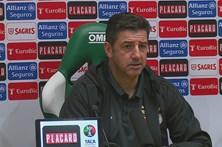 Rui Vitória diz que foco do Benfica é a Liga