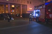 Conduta de gás rebenta em Coimbra
