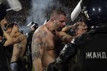 Confrontos entre Partizan e Estrela Vermelha provocam vários feridos