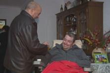 Bombeiro ferido na tragédia de Pedrógão regressa a casa