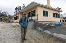 Recuperação das casas destruídas em Pedrógão acelera para o Natal