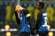 Inter e deixa liderança fica com liderança da liga italiana em perigo