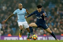 Manchester City bate Tottenham e chega à 16ª vitória consecutiva