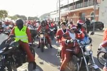 Pais Natais motards enchem Setúbal