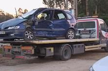 Morre preso no carro em colisão brutal no IC2