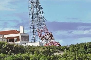 Cabo da Roca com vento de 144 km/h durante Tempestade 'Ana'