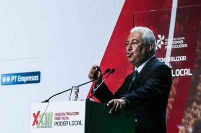 Costa quer cumprir Lei das Finanças Locais em quatro anos