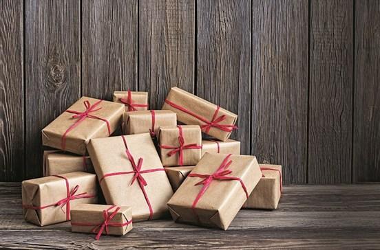 Presentes que todo o Pai Natal pode carregar