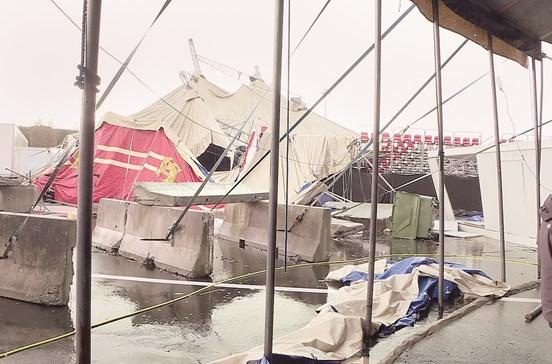 Mau tempo deixa rasto de destruição de Norte a Sul