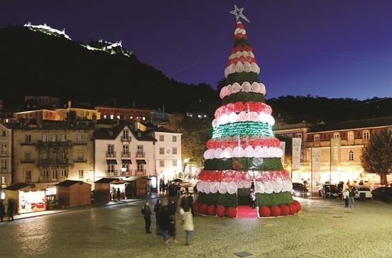 Conhecer Sintra no mês de Natal