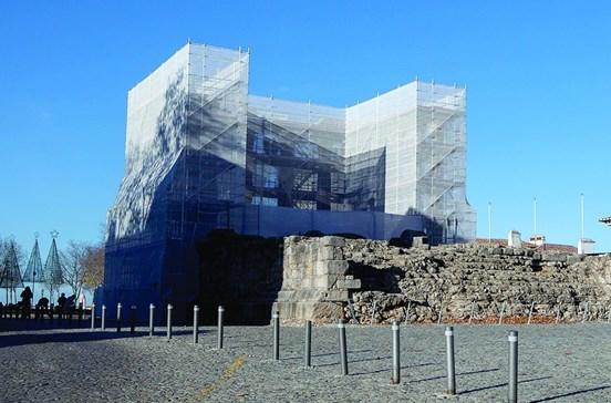 Templo Romano de Évora volta a ser postal turístico