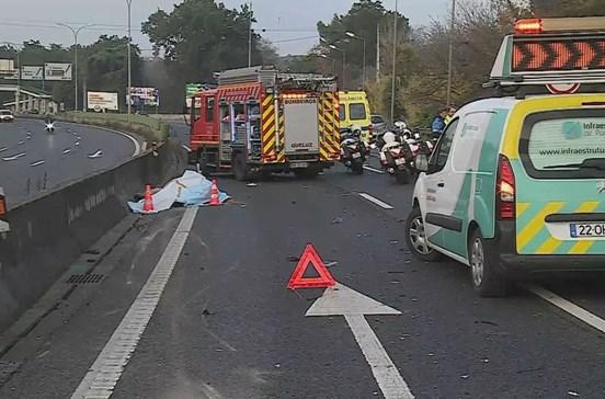 IC19 condicionada em Queluz após acidente com cavalo