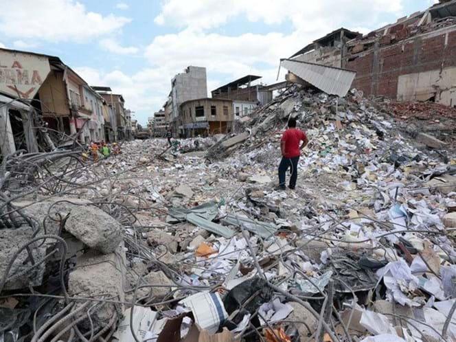 Sismo de seis na escala de Richter abala Equador