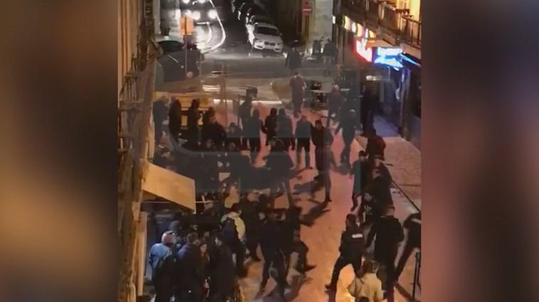 Desacatos e detenções após o Benfica-Basileia