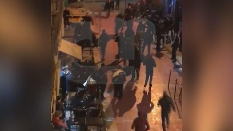 Adeptos do Basileia espalham violência em Lisboa — Vídeo