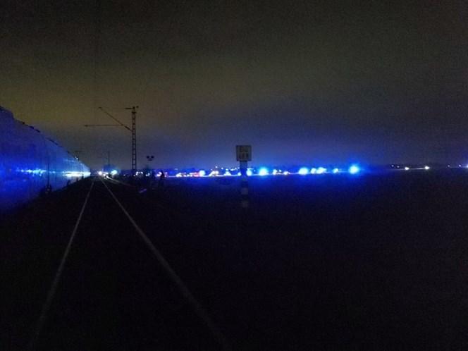 Trens de passageiro e de cargas colidem na Alemanha