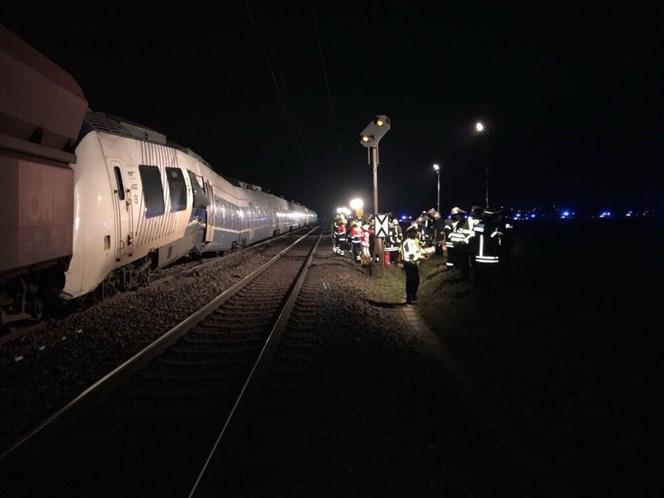 Colisão de comboios na Alemanha faz 50 feridos