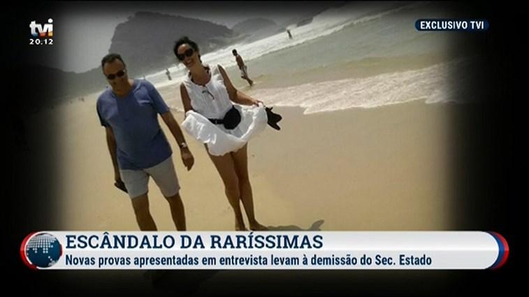 Vieira da Silva nega favorecimento e negligência — Raríssimas