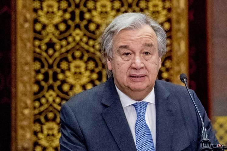 Após ataque, Guterres pede contenção aos estados membros
