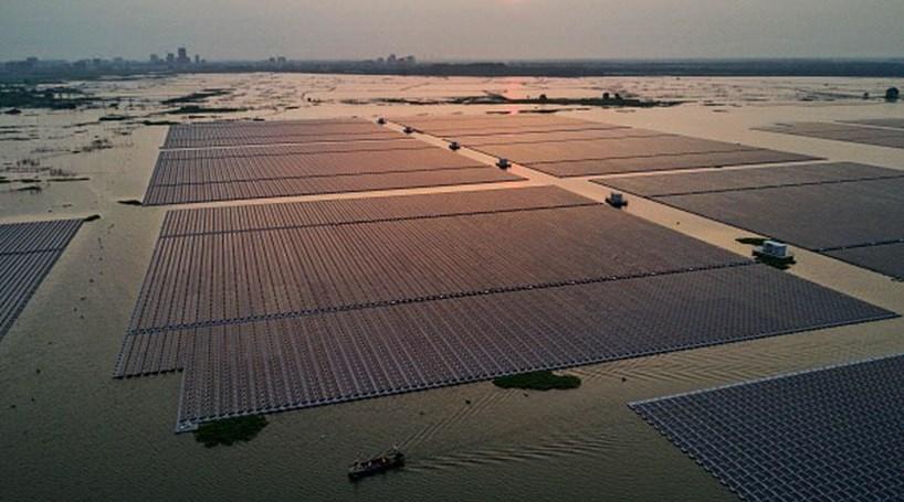 China vai ter maior central de energia solar flutuante do mundo