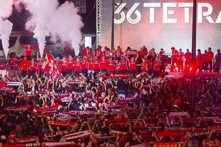 Benfica clube mais lucrativo da Europa em 2016/17