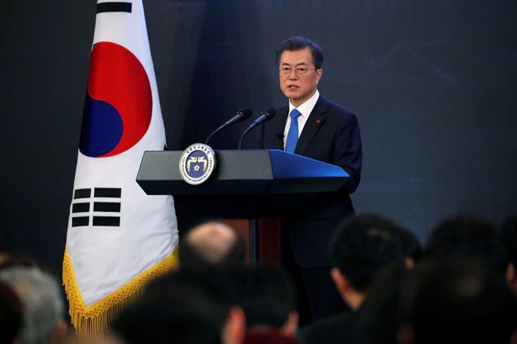Trump disponível para reunião EUA-Coreia nas
