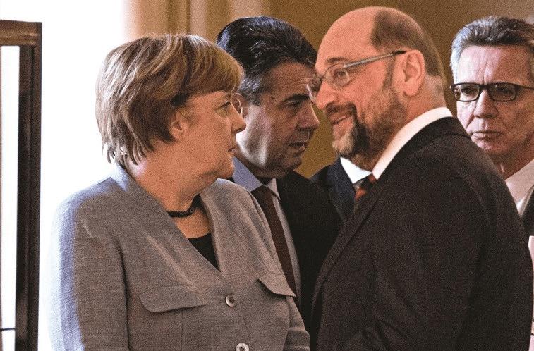 Partidos alemães negociam temas polêmicos no esforço para formar coalizão
