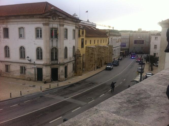 Mala abandonada obrigou à evacuação de jardim em Coimbra
