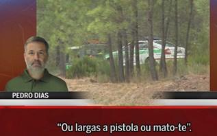 Oiça Pedro Dias na primeira pessoa a acusar GNR de ter morto Luís e Liliane Pinto