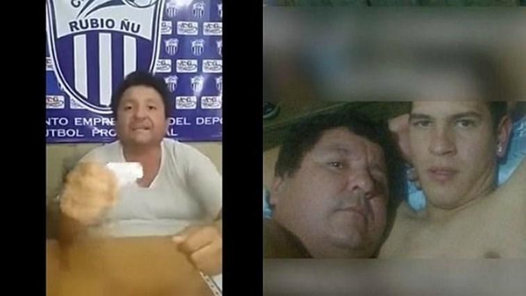 Imagens íntimas denunciam relação entre presidente e jogador — Paraguai