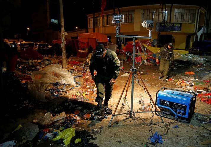 Explosão de gás deixa mortos e feridos no Carnaval da Bolívia