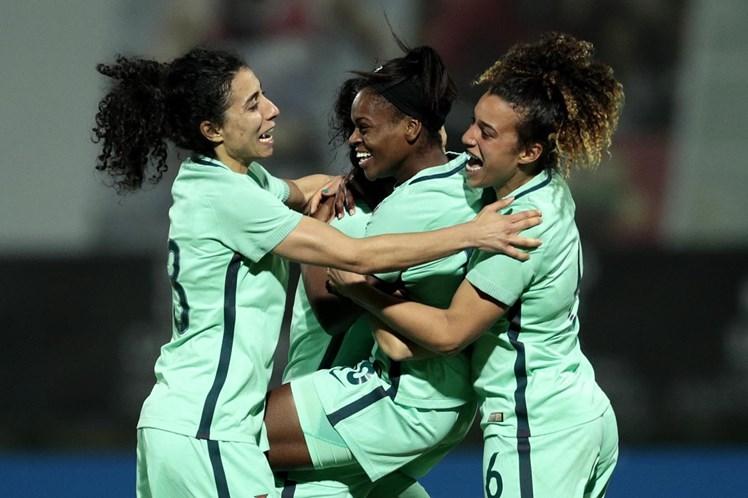 Duas campeãs em dia hitórico para Portugal na Algarve Cup — Síntese