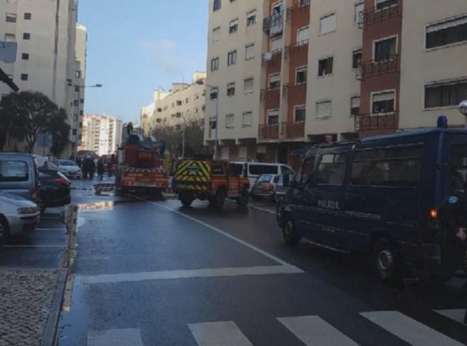 Fuga de gás provoca dois feridos graves em Monte Abrãao