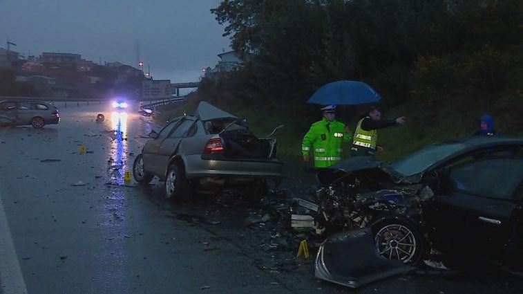 Um morto e sete feridos na via rápida Guimarães-Fafe