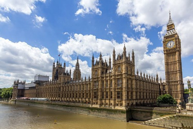 Detectada substância suspeita no parlamento britânico