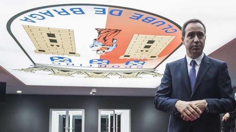 Sporting de Braga espera rápida resolução da dívida por Battaglia